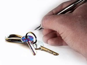 Hand signature and keys